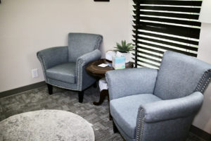 private therapy room